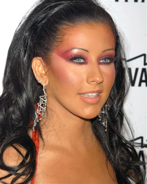 Aguilera Is An Oompa Loompa by 2000s Trends Hairstyles And Makeup Trends From