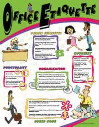Office Kitchen Etiquette Office Etiquette 230012 12 95 The School Company