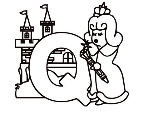 letter q coloring pages coloring home