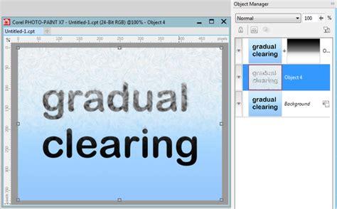 corel draw x7 gradient creating a gradient mask in x7 coreldraw x7 coreldraw