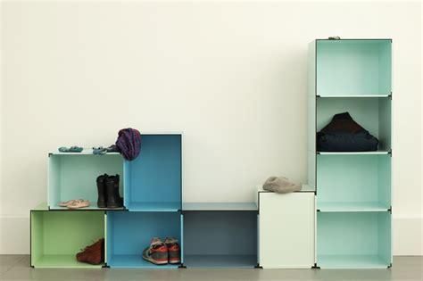 modular storage furnitures india fritz und franken develops storage modules for work and play