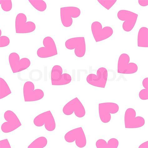 white heart pattern nahtlose vintage wei 223 es herz auf rosa hintergrund stock