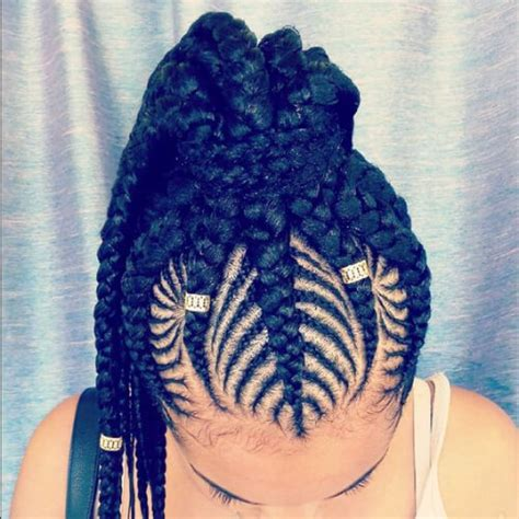 How To Do Two Goddess Braids   Short Hairstyle 2013