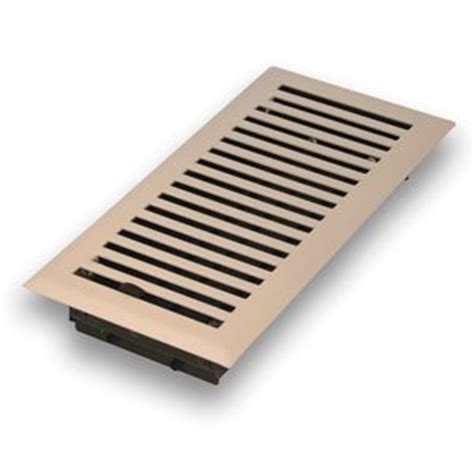 Floor Grate Covers decorative floor grate grill cover 4 quot x10 quot white