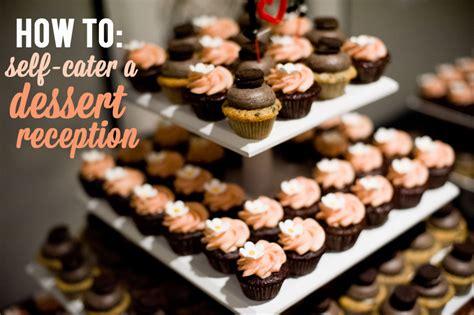 ideas   catering  dessert reception