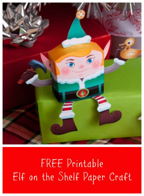 Make A On The Shelf by Free Printable On The Shelf Paper Craft Jinxy