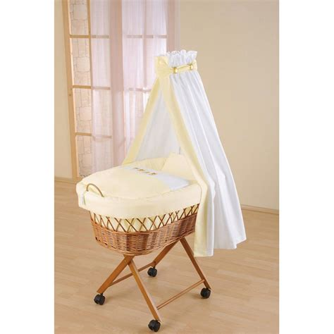 Baby Cribs Uk Leipold Baby Wicker Drape Crib Leipold At W H Watts Pram Shop