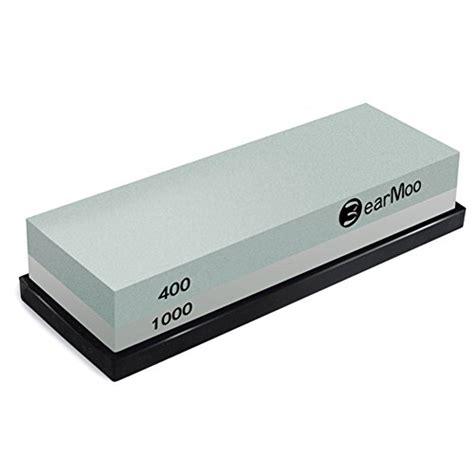 rubber st holder bearmoo whetstone 2 in 1 sharpening 400 1000 grit