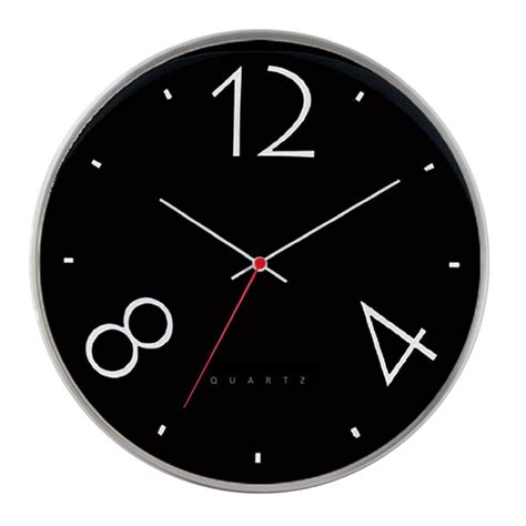 modern wall clocks buy sleek black modern wall clock online purely wall clocks