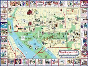 washington dc museum map pdf washington d c map