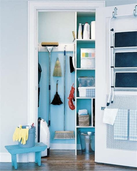 The Broom Closet by 7 Broom Closet Storage Solutions For Kitchens Of Any Size
