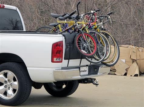 softride shuttle pad tailgate bike carrier for size