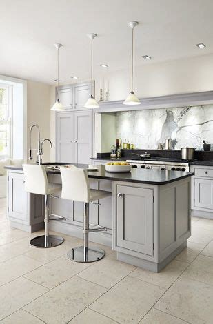 black and grey kitchen cabinets grey cabinets black counters and white walls on pinterest