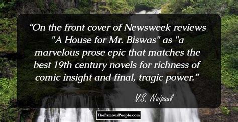 themes in house of mr biswas 26 prominent v s naipaul quotes
