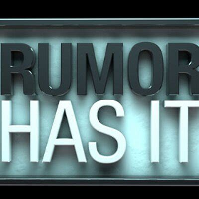 Rumor Has It by Cnet S Rumor Has It Cnetrumorshow