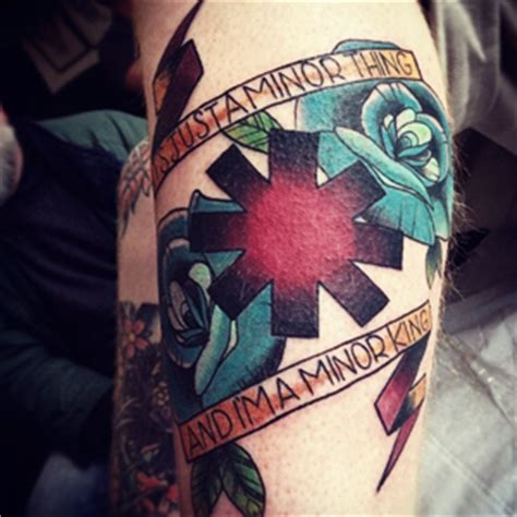 red hot chili tattoo red hot chili peppers tattoos of fans
