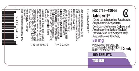 Adderall Detox Schedule by Dailymed Adderall Dextrohetamine Saccharate