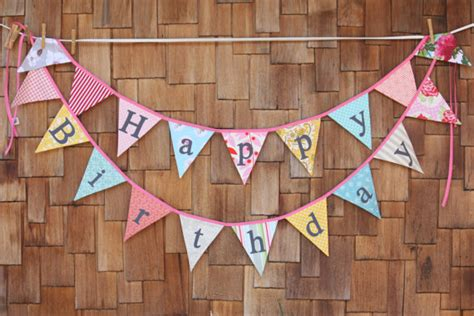 Bunting Flah Happy Birthday Murah items similar to custom happy birthday flags a unique decoration you receive two flag
