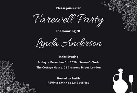 Farewell Party Invitation Template 29 Free Psd Format Download Free Premium Templates Free Farewell Invitation Templates