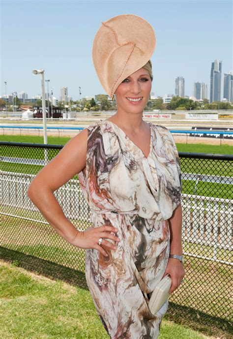 Zahra Skincare Day zara phillips enjoyed a day at the racing in