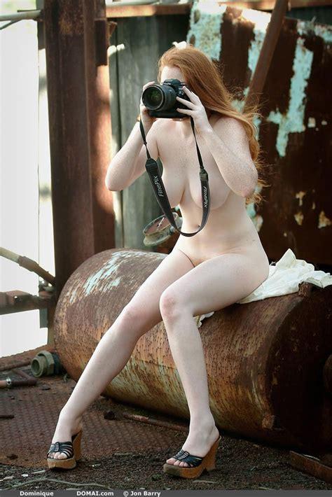 Nude Redhead Dominique Domai Hot Girls Wallpaper