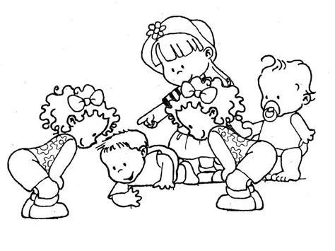 dibujos de ni os jugando para colorear az dibujos para colorear divertidas imagenes ni 241 os para colorear en preescolar