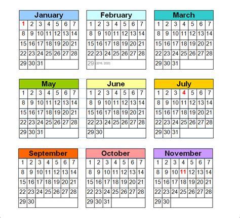 Calendar Perpetual Perpetual Calendar Calendar Template Free Premium