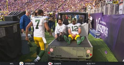 Out And About Nation 15 by Aaron Rodgers Injury Packers Hurts Right