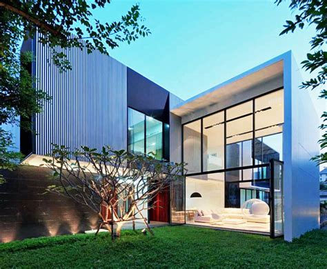 thailand home design news naturally ventilated yak01 home keeps its cool in thailand