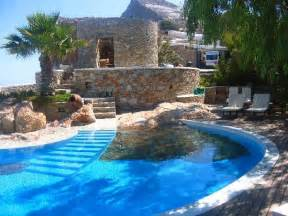 cool swimming pools home and garden artificial rocks around swimming pool