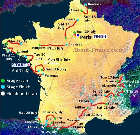 france 2018 tourist 97 the tour de france 2018 in english route and map