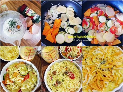 Cuisine Paradise Singapore Food Blog Recipes Reviews Garden Vegetable Frittata