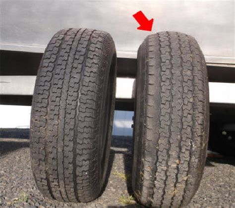 boat trailer tires wearing unevenly boat trailer tires wearing exces