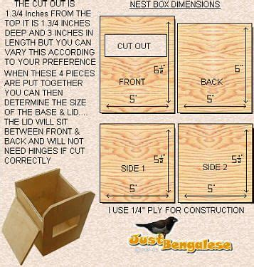 bengalese finch nest boxes nesting boxes