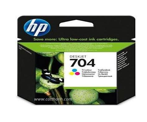 Cartridge Tinta Original Hp 704 Color Cn693aa mực in hp 704 tri color ink cartridge cn693aa phun m 224 u