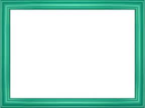Elegant embossed frame border in cyan color rectangular perfect for