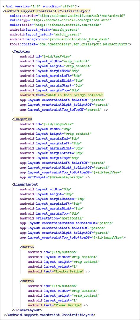 android layout gone xml android xml strings