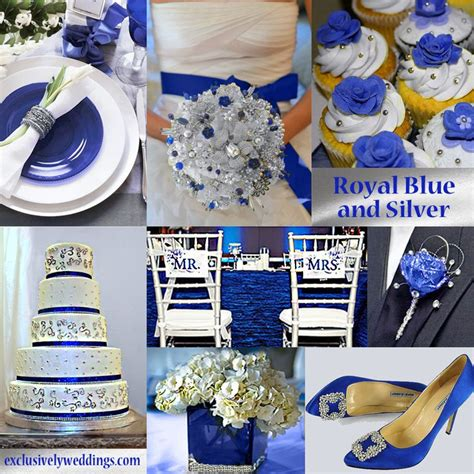 blue wedding color five combinations blue and wedding and royal blue