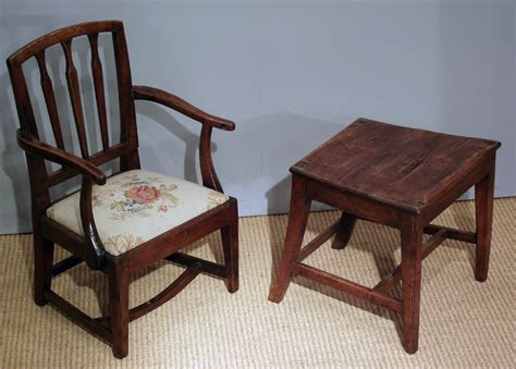 Hakes Furniture by Antique Child S Chair On Stand Children S Chair Antique