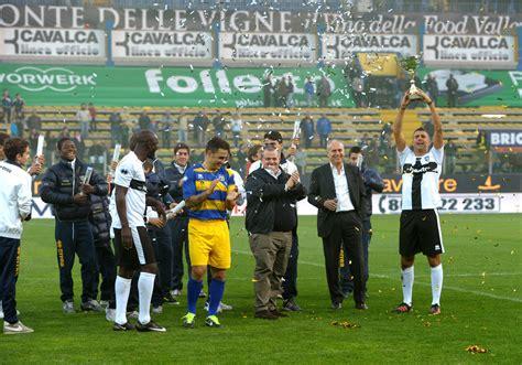 Parma Years 2 Tshirtkaosraglananak Oceanseven Fabio Cannavaro Photos Photos Fc Parma Celebrate 100