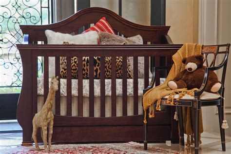 Million Dollar Baby Classic Ashbury 4 In 1 Convertible Crib by Ashbury 4 In 1 Convertible Crib With Toddler Rail