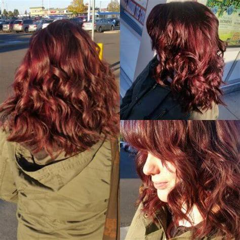 burgundy brown hair color pictures 50 vivid burgundy hair color ideas for this fall hair