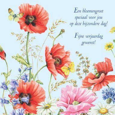 bloemen verjaardag gedicht verjaardagskaart met fleurige bloemen greetz verjaardag