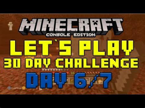 minecraft xbox 360 challenges minecraft xbox 360 30 day let s play challenge