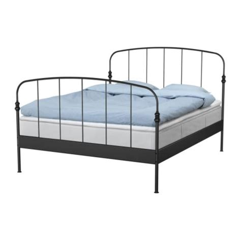 Ikea Iron Bed Frame Two And A Farm Black Metal Bed Frame