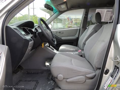 2004 Toyota Highlander Interior by 2004 Toyota Highlander I4 Interior Photos Gtcarlot