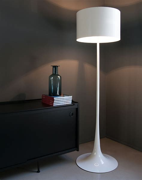 flos spun light floor l flos lada da pavimento spun light f bianca flos eco