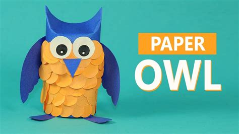 Paper Animals Craft - crafts paper animals paper owl craft for