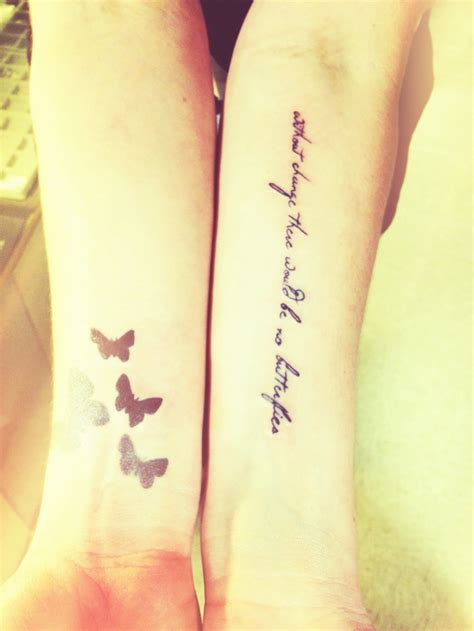 change tattoo without change there would be no butterflies inked