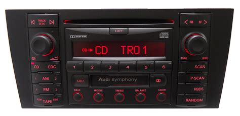 audi symphony sound system new 2000 2001 audi a6 s6 s 6 allroad radio cd player bose